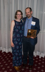 Jennifer Smith-Mayo and Matthew P. Mayo at the Western Writers of America 2013 Spur Awards