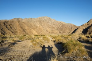 Team Gritty at Anza Borrego Desert State Park, California