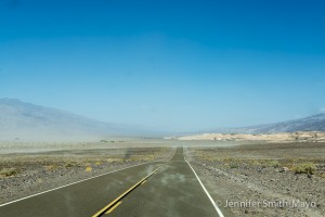 Dust storm, Death Valley National Park, California
