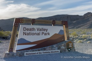 Entrance to Death Valley National Park, California