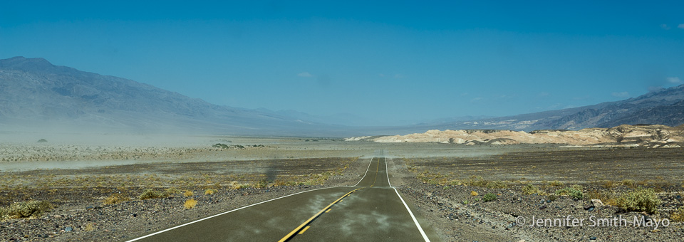 Blasting Through Death Valley