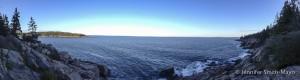 Acadia National Park coastline, Mount Desert Island, Maine