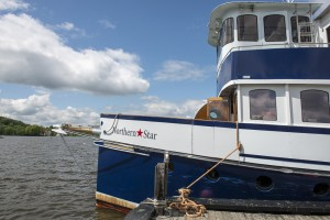 Team Gritty went on a Northern Star lake cruise on Lake Memphremagog in Newport, Vermont
