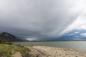Storm approaches, Buffalo Bill State Park, Cody, Wyoming