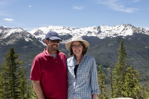 Team Gritty in the Rocky Mountain National Park, Colorado
