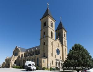"St. Fidelis Catholic Church, ""The Cathedral of the Plains,"" Victoria, Kansas"
