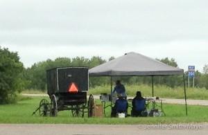 Amish Farmstand, Mahnomen, Minnesota