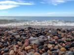 Guy visits Pictured Rocks National Lakeshore, Michigan