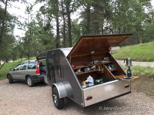 Coffee's on at Devils Tower National Monument, Wyoming